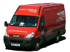 We deliver hired radios nationwaide via Parcelforce