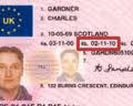 Driving licence ID for walkie-talkie hire