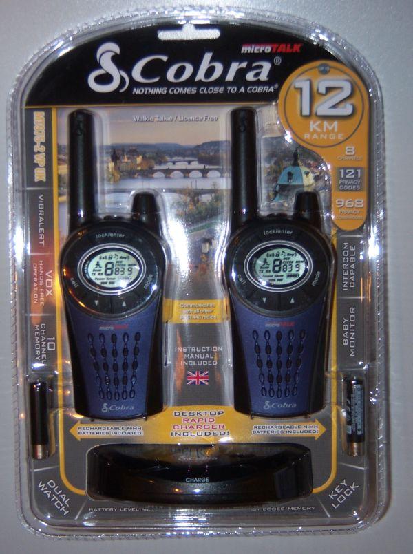 Cobra Mt975 Licence Free Walkie Talkie Radio