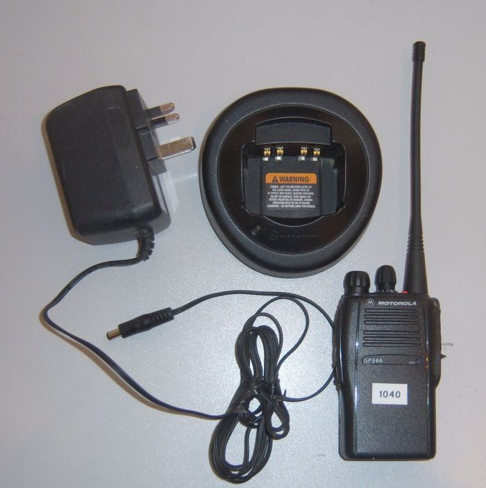 Motorola GP344 walkie-talkie for rental
