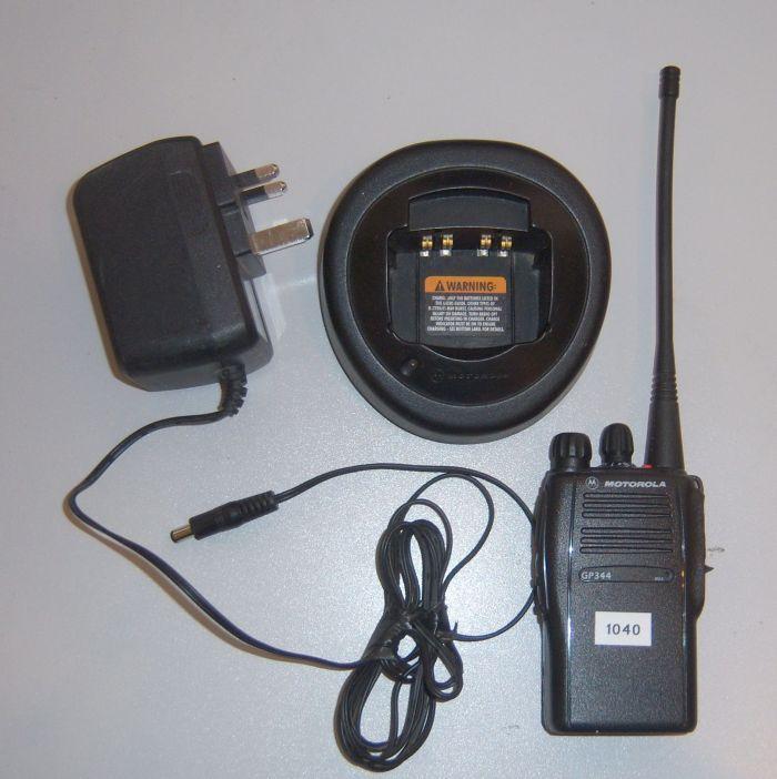 Motorola GP344 Walkie-Talkie For Hire