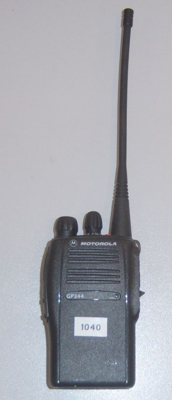 Motorola GP344 hire walkie-talkie radio