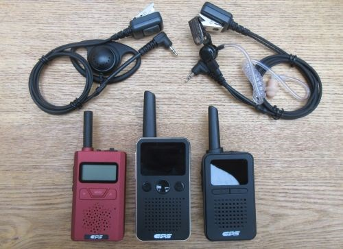 Our range of small walkie-talkies and earpieces for restaurants